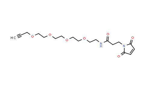 1609651-90-2   Propargyl-PEG4-Maleimide