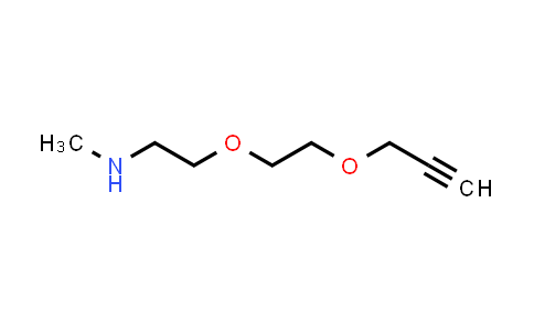MC457856 | 1835759-76-6 | Propargyl-PEG2-methylamine