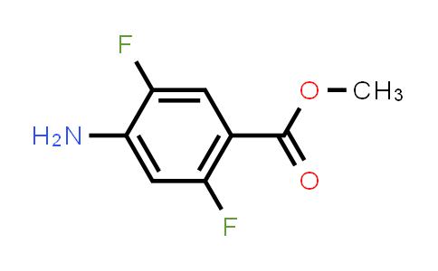 MC457941 | 952285-52-8 | Benzoic acid, 4-aMino-2,5-difluoro-, Methyl ester