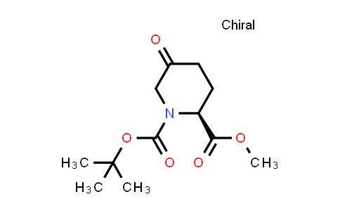 DY457975 | 1260587-51-6 | (S)-1-tert-butyl 2-methyl 5-oxopiperidine-1,2-dicarboxylate