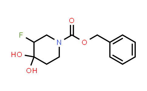 MC457992 | 2102412-10-0 | benzyl 3-fluoro-4,4-dihydroxypiperidine-1-carboxylate