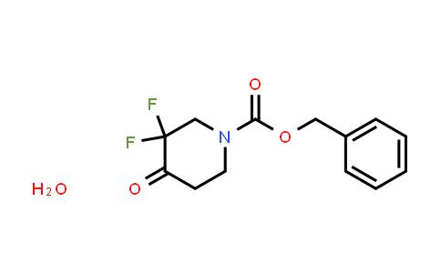 2375195-99-4 | benzyl 3,3-difluoro-4-oxopiperidine-1-carboxylate hydrate