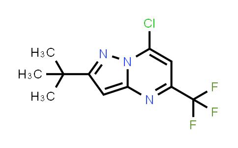 175203-38-0 | 2-TERT-BUTYL-7-CHLORO-5-(TRIFLUOROMETHYL)PYRAZOLO[1,5-A]PYRIMIDINE