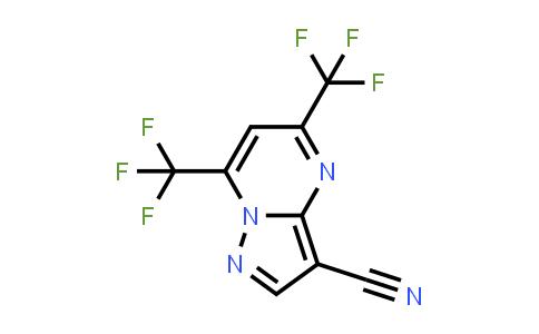 175276-40-1 | 5,7-BIS(TRIFLUOROMETHYL)-3-CYANOPYRAZOLO[1,5-A]PYRIMIDINE