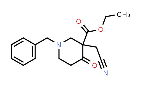 1334414-48-0 | ethyl 1-benzyl-3-(cyanomethyl)-4-oxopiperidine-3-carboxylate