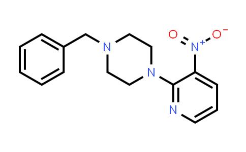 DY458057 | 499771-07-2 | 1-BENZYL-4-(3-NITROPYRIDIN-2-YL)PIPERAZINE
