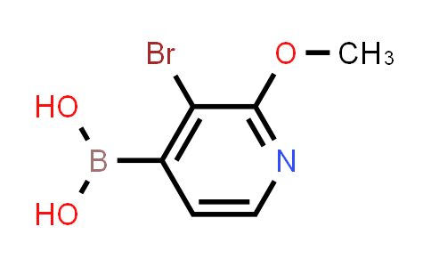 MC458061 | 1072946-00-9 | 3-BROMO-2-METHOXYPYRIDINE-4-BORONIC ACID