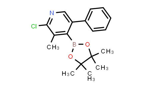 1010100-94-3 | 2-CHLORO-3-METHYL-5-PHENYL-4-(4,4,5,5-TETRAMETHYL-1,3,2-DIOXABOROLAN-2-YL)-PYRIDINE