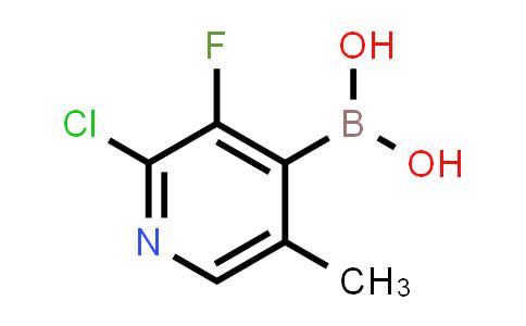 1072952-39-6 | 2-CHLORO-3-FLUORO-5-PICOLINE-4-BORONIC ACID