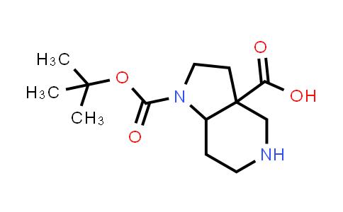 MC458087 | 1334416-52-2 | 1-(tert-butoxycarbonyl)-octahydro-1H-pyrrolo[3,2-c]pyridine-3a-carboxylic acid