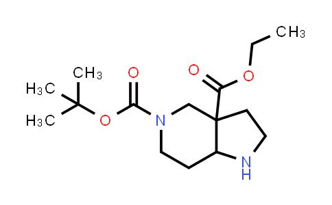 MC458093 | 1678555-81-1 | 5-tert-butyl 3a-ethyl hexahydro-1H-pyrrolo[3,2-c]pyridine-3a,5(6H)-dicarboxylate