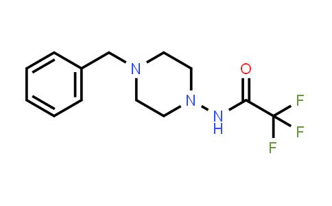 MC458094   1198285-47-0   N-(4-benzylpiperazin-1-yl)-2,2,2-trifluoroacetamide