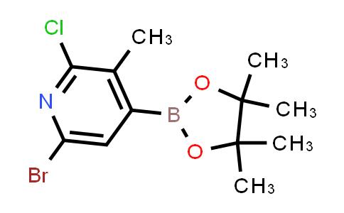 MC458095 | 1010101-10-6 | 6-BROMO-2-CHLORO-3-METHYL-4-(4,4,5,5-TETRAMETHYL-1,3,2-DIOXABOROLAN-2-YL)-PYRIDINE