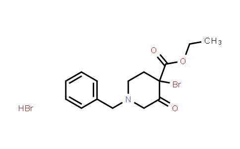 1303972-94-2 | ethyl 1-benzyl-4-bromo-3-oxopiperidine-4-carboxylate hydrobromide