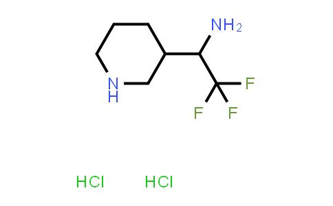 MC458099 | 1881331-20-9 | 2,2,2-trifluoro-1-(piperidin-3-yl)ethanamine dihydrochloride