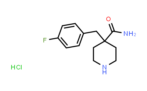 1283720-14-8 | 4-(4-FLUORO-BENZYL)-PIPERIDINE-4-CARBOXYLIC ACID AMIDE HYDROCHLORIDE