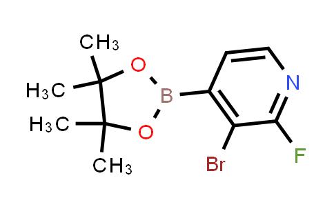 MC458122   1150561-78-6   3-BROMO-2-FLUOROPYRIDINE-4-BORONIC ACID PINACOL ESTER