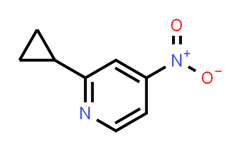 1255311-63-7 | 2-cyclopropyl-4-nitropyridine