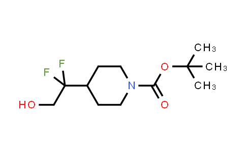 1258639-21-2 | Tert-butyl 4-(1,1-difluoro-2-hydroxyethyl)piperidine-1-carboxylate