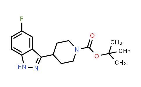 1228631-73-9 | tert-butyl 4-(5-fluoro-1H-indazol-3-yl)piperidine-1-carboxylate