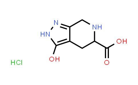 1258637-47-6 | 3-hydroxy-4,5,6,7-tetrahydro-2H-pyrazolo[ 3,4-c]pyridine-5-carboxylic acid hydrochloride
