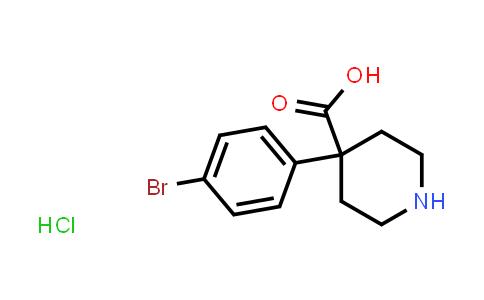 MC458142 | 1241725-63-2 | 4-(4-bromophenyl)piperidine-4-carboxylic acid hydrochloride