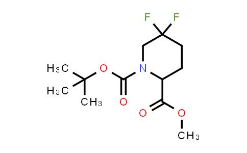 MC458145 | 1255663-86-5 | 1-tert-butyl 2-methyl 5,5-difluoropiperidine-1,2-dicarboxylate
