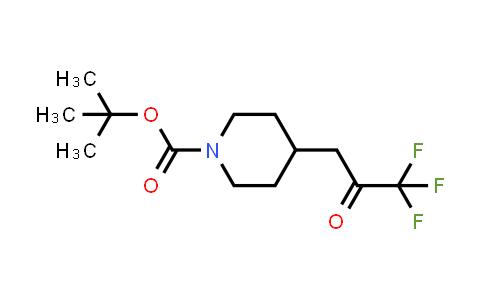 MC458147 | 1228631-18-2 | tert-butyl 4-(3,3,3-trifluoro-2-oxopropyl)piperidine-1-carboxylate