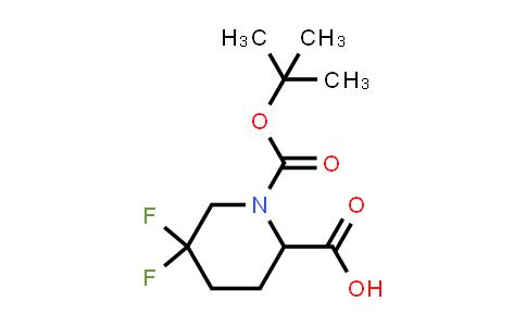 1255663-95-6   1-(tert-butoxycarbonyl)-5,5-difluoropiperidine-2-carboxylic acid