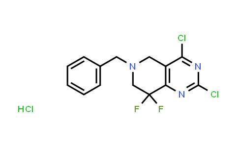 MC458157 | 1864059-82-4 | 6-benzyl-2,4-dichloro-8,8-difluoro-5,6,7,8-tetrahydropyrido[4,3-d]pyrimidine HYDROCHLORIDE