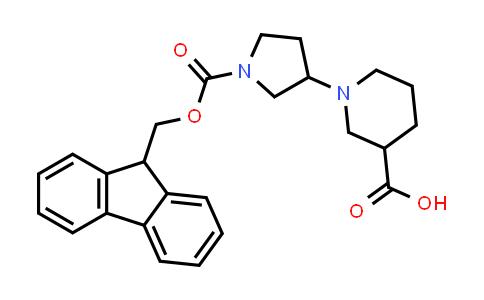 DY458158 | 1313738-82-7 | 1-(1-(((9H-fluoren-9-yl)methoxy)carbonyl)pyrrolidin-3-yl)piperidine-3-carboxylic acid
