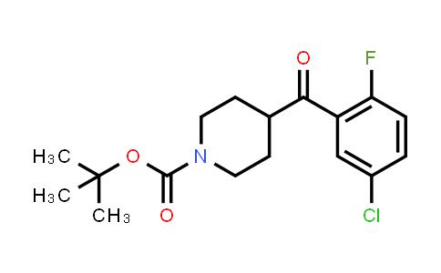MC458160 | 1228631-50-2 | tert-butyl 4-(5-chloro-2-fluorobenzoyl)piperidine-1-carboxylate