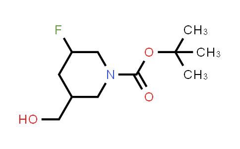 1241725-59-6 | tert-butyl 3-fluoro-5-(hydroxymethyl)piperidine-1-carboxylate