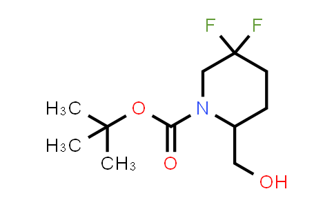 1255666-39-7 | tert-butyl 5,5-difluoro-2-(hydroxymethyl)piperidine-1-carboxylate