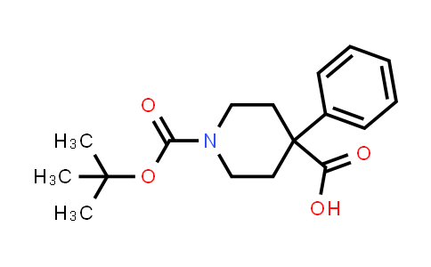 167262-68-2 | 1-(TERT-BUTOXYCARBONYL)-4-PHENYLPIPERIDINE-4-CARBOXYLIC ACID