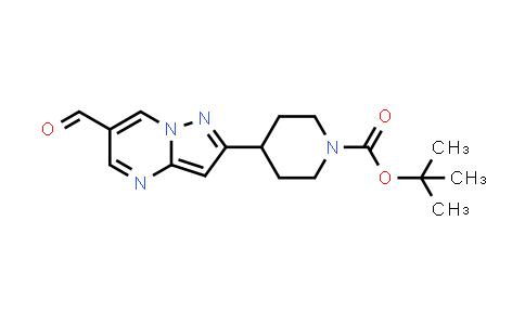 1258638-43-5 | tert-butyl 4-(6-formylpyrazolo[1,5-a]pyrimidin-2-yl)piperidine-1-carboxylate