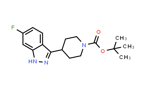 1198284-41-1 | tert-butyl 4-(6-fluoro-1H-indazol-3-yl)piperidine-1-carboxylate