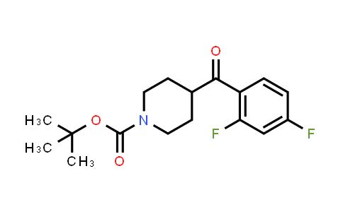 1159825-99-6   tert-butyl 4-(2,4-difluorobenzoyl)piperidine-1-carboxylate