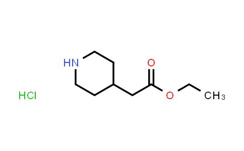 169458-04-2 | ETHYL 4-PIPERIDINEACETATE HCl salt