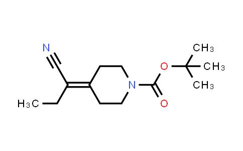 1198283-75-8 | tert-butyl 4-(1-cyanopropylidene)piperidine-1-carboxylate