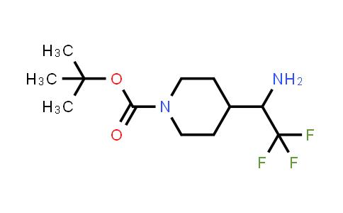 1159982-64-5 | tert-butyl 4-(2,2,2-trifluoro-1-aminoethyl)piperidine-1-carboxylate