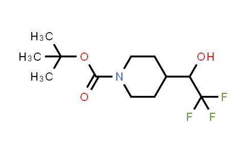 184042-83-9 | tert-butyl 4-(2,2,2-trifluoro-1-hydroxyethyl)piperidine-1-carboxylate