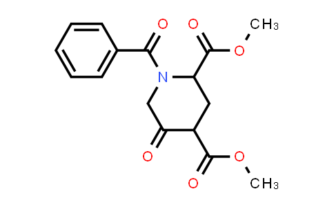 MC458209 | 1255663-98-9 | dimethyl 1-benzoyl-5-oxopiperidine-2,4-dicarboxylate