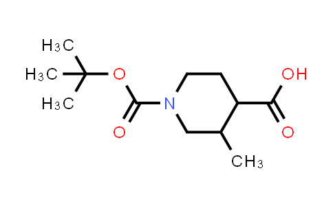 MC458250 | 512822-50-3 | N-Boc-3-methyl-4-piperidinecarboxylic acid