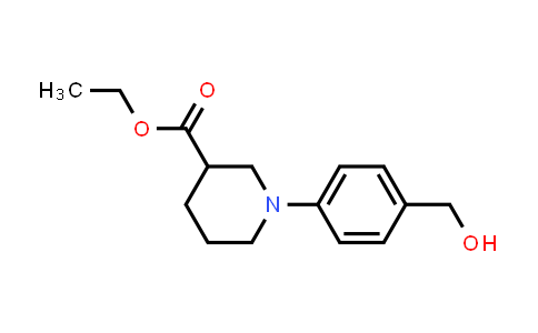 MC458255 | 889956-15-4 | 1-(4-Hydroxymethyl-phenyl)-piperidine-3-carboxylic acid ethyl ester