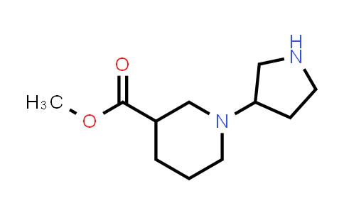 DY458257 | 903094-48-4 | 1-Pyrrolidin-3-yl-piperidine-3-carboxylic acid methyl ester