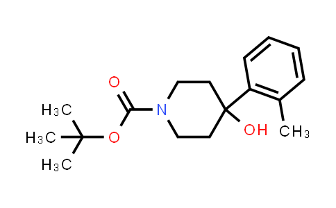 553630-96-9 | 1-Boc-4-(2-methylphenyl)-4-hydroxypiperidine
