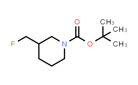 169751-00-2 | tert-butyl 3-(fluoromethyl)piperidine-1-carboxylate