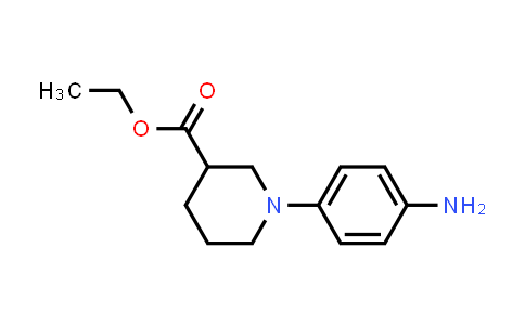MC458270 | 889947-74-4 | 1-(4-Amino-phenyl)-piperidine-3-carboxylic acid ethyl ester