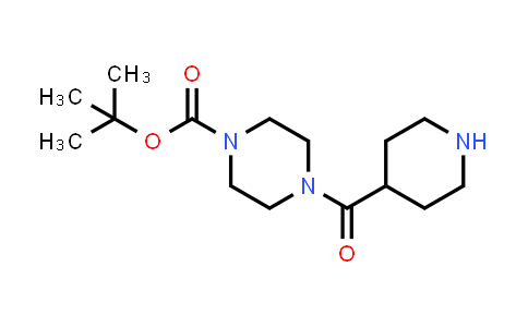 DY458291 | 203520-03-0 | 4-(Piperidine-4-carbonyl)-piperazine-1-carboxylic acid tert-butyl ester